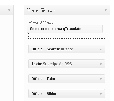 colocar widget en el home sidebar-blog-hostalia-hosting