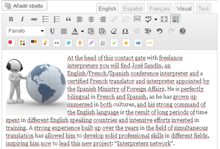 editor texto ingles-blog-hostalia-hosting