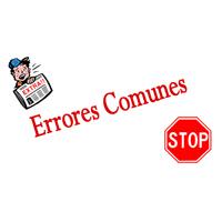 Errores evitables a la hora de crear una web