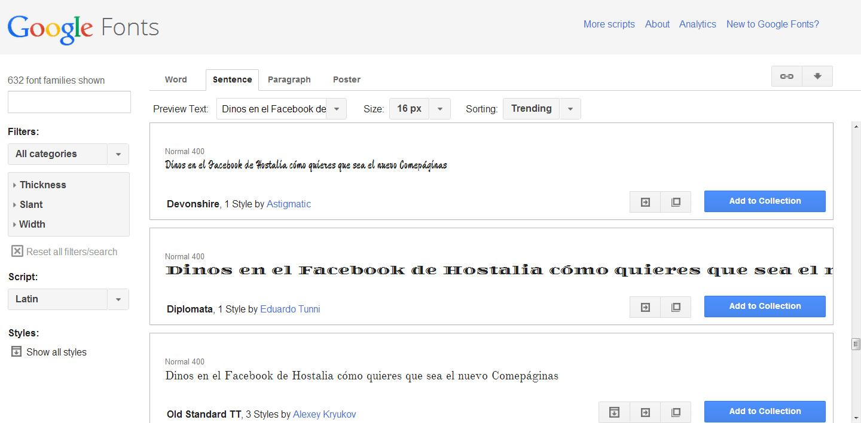 google-fonts-texto-blog-hostalia-hosting