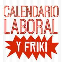 Calendario laboral y friki del 2014
