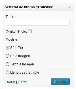 opciones widget qtranslate-blog-hostalia-hosting