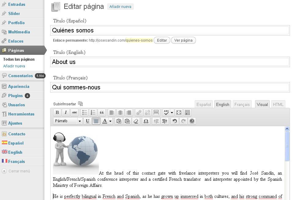 pagina-varios-idiomas-qtranslate-blog-de-hostalia-hosting