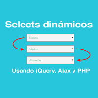 Cómo hacer selects dependientes con PHP, jQuery y AJAX