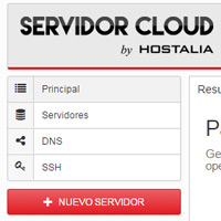 Manual de uso de Servidor Cloud