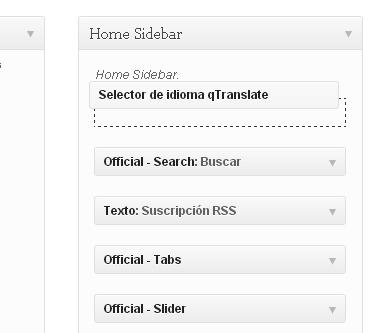 colocar widget en el home sidebar-blog-hostalia-hosting