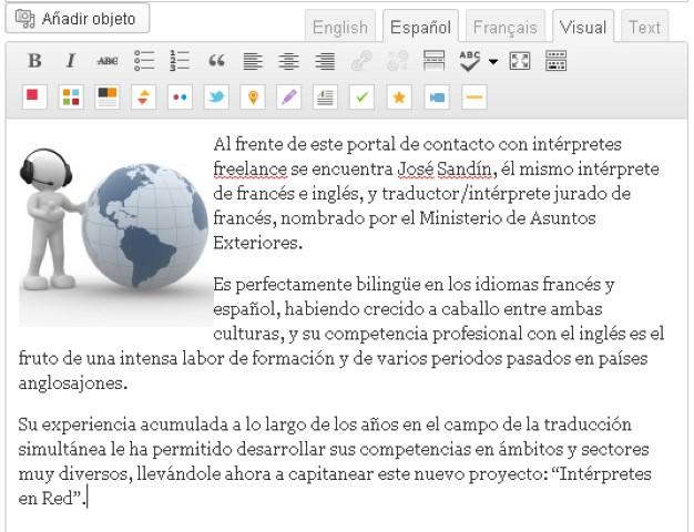 editor texto espanol-blog-hostalia-hosting