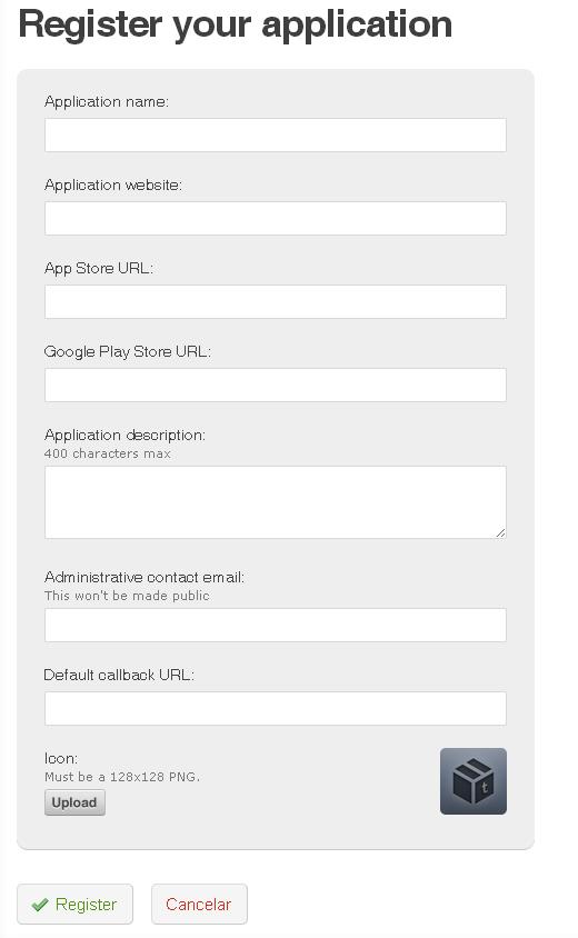 formulario registro app tumblr