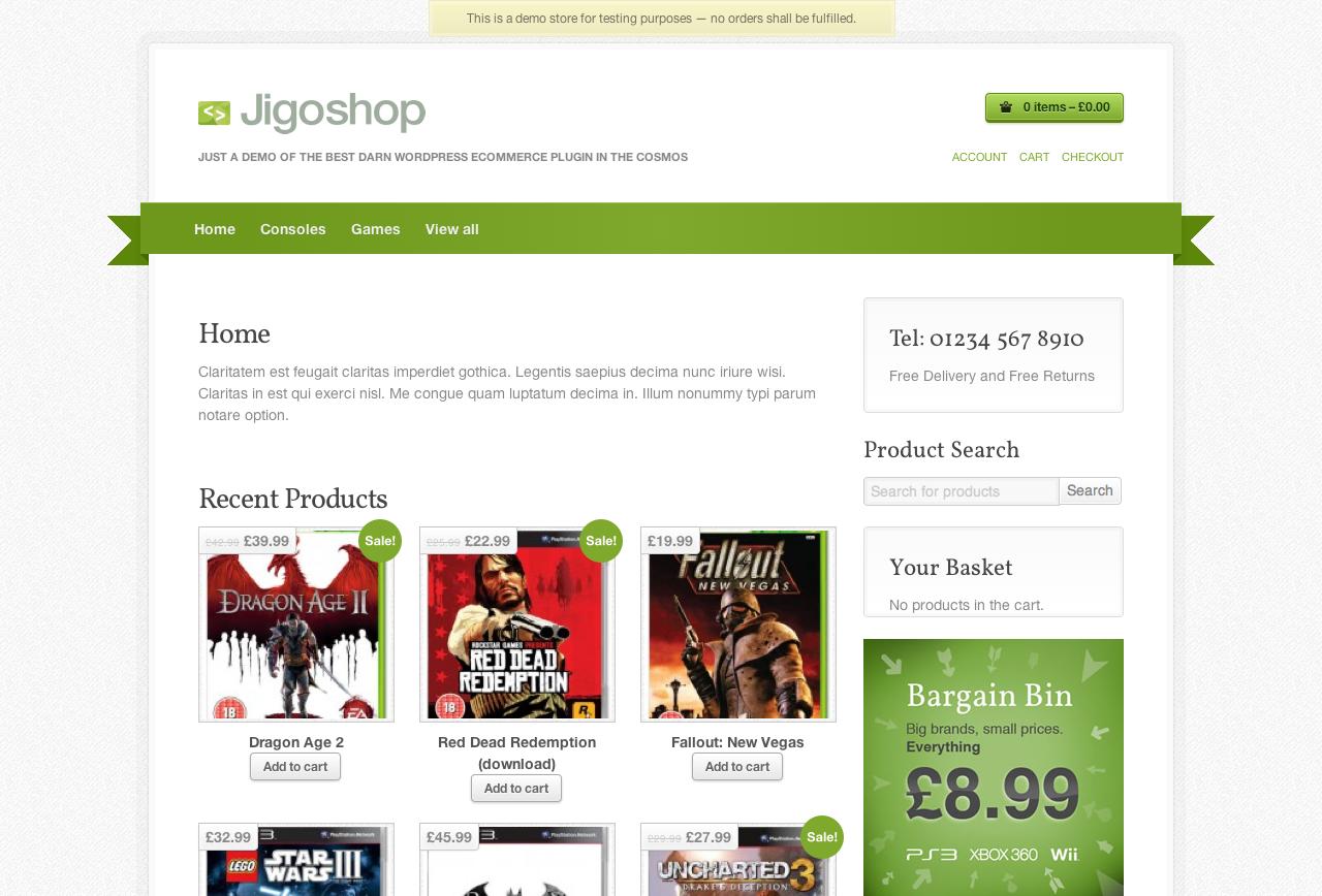 jigoshop tienda online